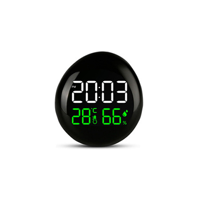 Mini Portable Clock | Temperature and Humidity Clock