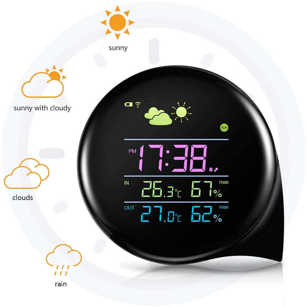 best home outdoor weather station