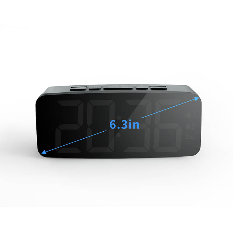 Simple Alarm Clock | Office Clock  | Digital Trends