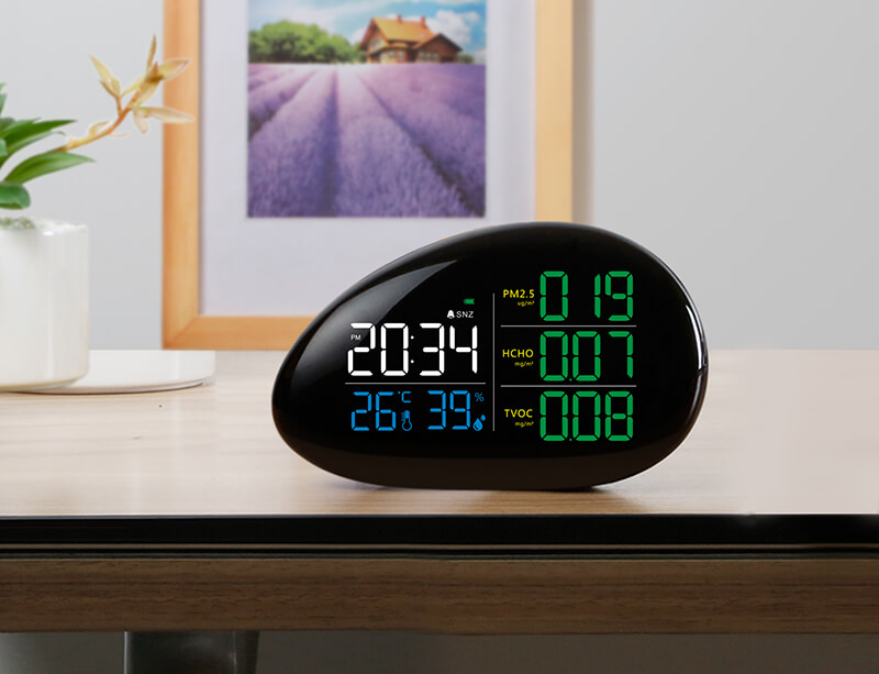 A11 Lying Stone 6 In 1 Air Quality Monitor