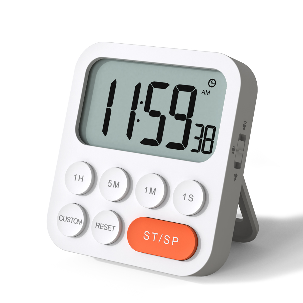 Digital Timer and Clock with Custom Mode